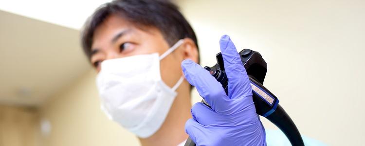 鎮静剤を用いて苦痛を抑え楽に受けられる胃・大腸内視鏡検査